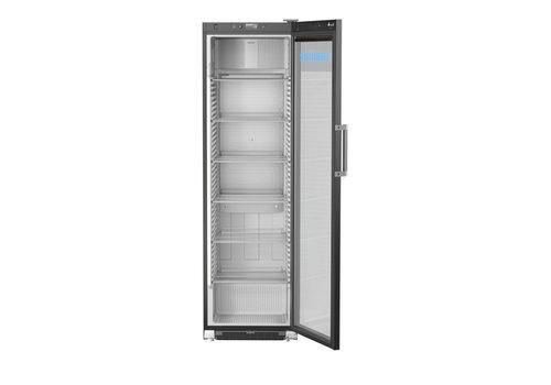 Liebherr Liebherr angezeigt Kühlschrank Black Steel | Glastür