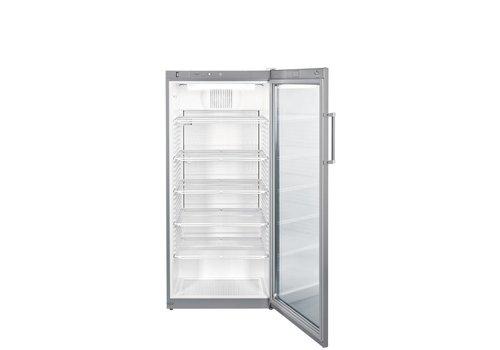 Liebherr FKvsl5413 | Koelkast met glazen deur Grijs 572 L | Liebherr