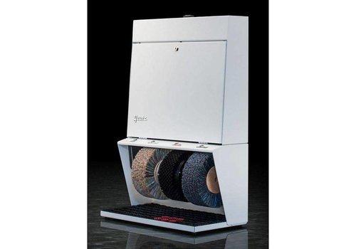 Heute Schoenpoetsmachine 3 Borstels | 56 cm x 31 cm x 85 (h) cm