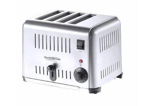 HorecaTraders Toaster | 4 Scheiben |