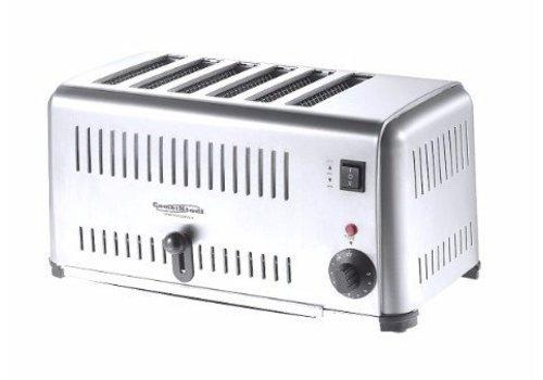HorecaTraders Toaster | 6 Scheiben |