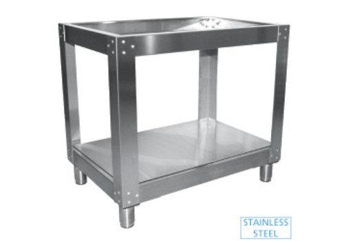 Diamond RVS onderstel voor oven 98x110xh86 cm
