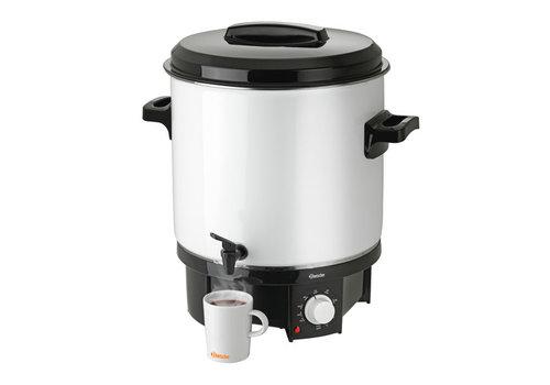 Bartscher Zilveren Glühwein dispenser 21 Liter