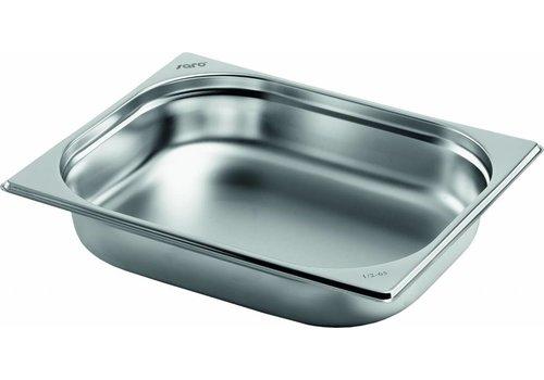 Saro Gastronormbakken edelstaal GN 1/2 | 2 Jaar Garantie