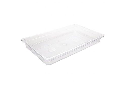 Vogue Plastikbehälter gastro Standard 1/1 | 4 Größen