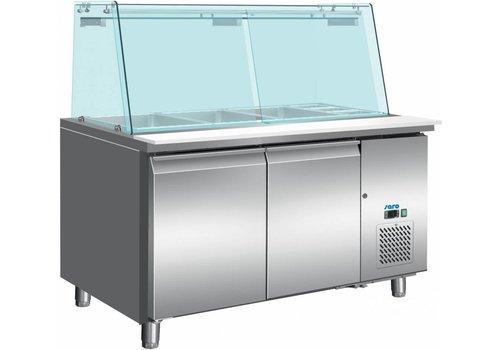 Saro Koeltafel Met Glazen Top