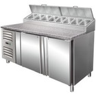 Saro Refrigerated Preparation Table with 2 doors