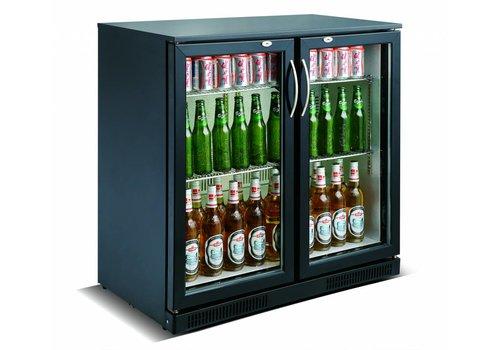 Combisteel Getränkekühler zwei Schwingtüren 90x90x50 cm