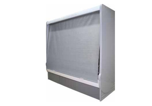 HorecaTraders Night curtain wall coolers | Manually operated without cassette