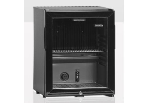Tefcold TM32G Black Tefcold Mini Cooler With Glass Door