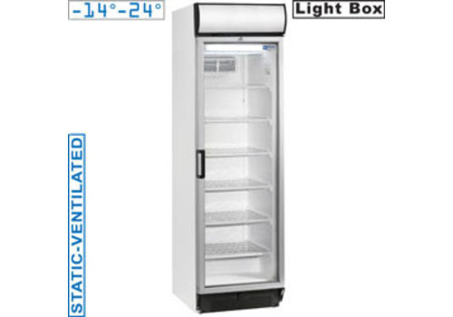 Diamond Static / Ventilated Freezer with Glass Door   Clemence