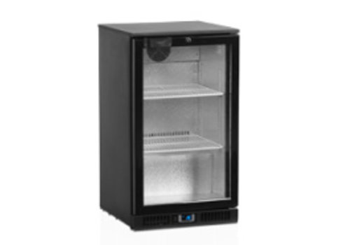Tefcold Tefcold black Backbar cooler with glass door 50x52x87 (h)