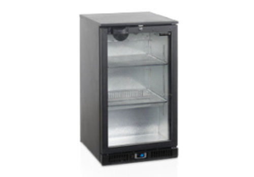 Tefcold Tefcold black Backbar cooler with 1 door