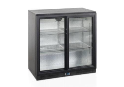 Tefcold TEFCOLD Backbar-Kühler mit zwei Glastüren
