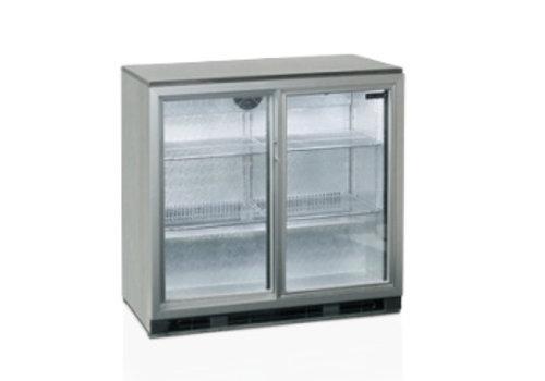 Tefcold Tefcold RVS Backbar-koeler met 1 deur