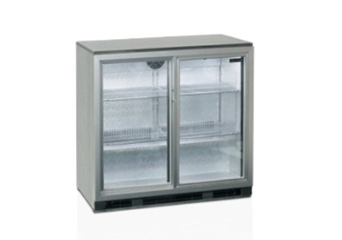 Tefcold Tefcold Stainless Steel Backbar Cooler with 1 door