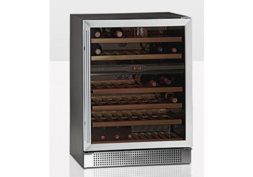 Tefcold Weinkühler mit Glastür TFW160-2S