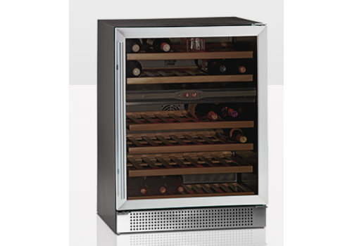 Tefcold Wine Cooler with Glazendeur TFW160-2S