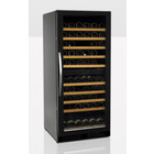 Tefcold Wine Cooler Black with glass door TFW265-2F