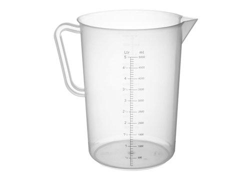 Hendi Meßbecher Harz 5 Liter