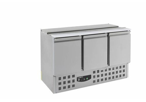 Combisteel Cooled stainless steel saladette 3 doors MOST SOLD!