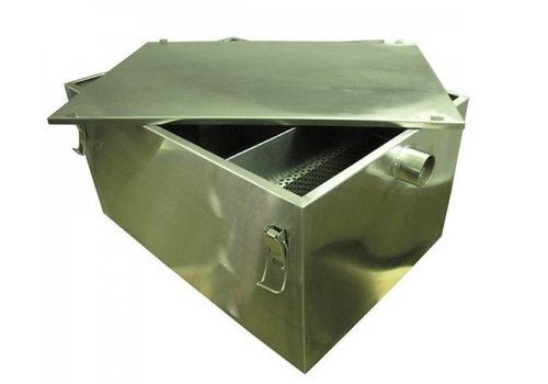 Combisteel Grease trap stainless steel | 36 ltr/min