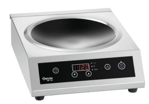 Bartscher Induction wok plate 3500W | 26 Ø