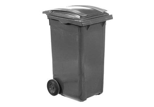 HorecaTraders Abfallbehälter auf Rädern - 240 L | 6 Farben