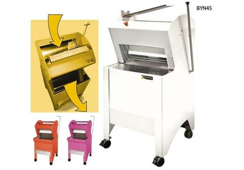 Sofinor Bread slicer White Semi-Automatic | Bread through Top | 550W