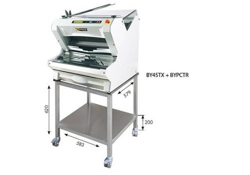 Sofinor Bread slicer White Table model Automatic | Bread through Top | 550W