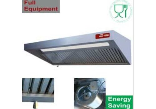 HorecaTraders Cooker hood Complete 4 sizes