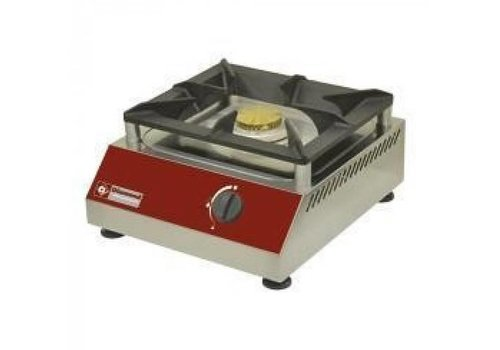 Diamond Gas stove 1 Burner | 5 Kw 380x400x (h) 200mm