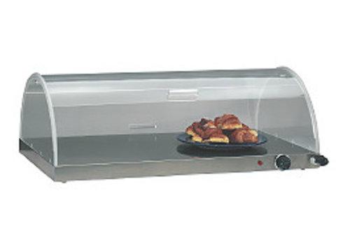 HorecaTraders Croisantwarmer met koepel