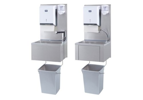 Sofinor Catering hand sink + paper and soap dispenser | Plastic