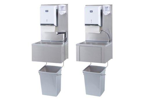 Sofinor Catering Waschbecken + Papier- und Seifenspender | Kunststoff