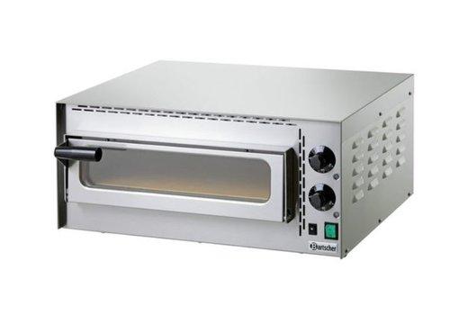 Bartscher Mini Horeca Pizzaoven 2000 Watt | 1 Pizza