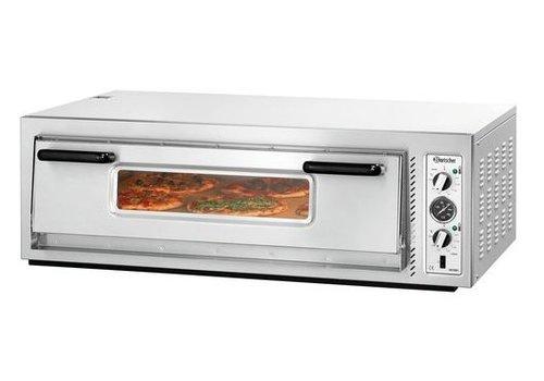 Bartscher Horeca Pizza oven 6000 Watt 6 Pizzas