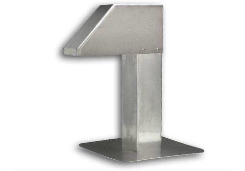 HorecaTraders Standard-Aluminium-Dachdurchführung | 1 Ausgang