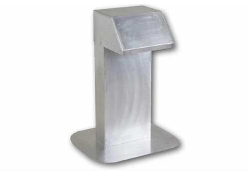 HorecaTraders Aluminium dakdoorvoer | extra hoge nek