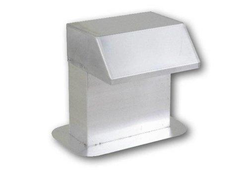 HorecaTraders Aluminium dakdoorvoer | extra brede doorgang