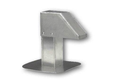 HorecaTraders Aluminium dakdoorvoer | smalle doorgang
