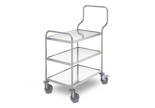 HorecaTraders Serving trolley Ergo | 3 sheets