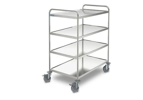 HorecaTraders Serving trolley Ergo | 4 sheets