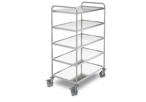 HorecaTraders Serving trolley Ergo | 5 sheets