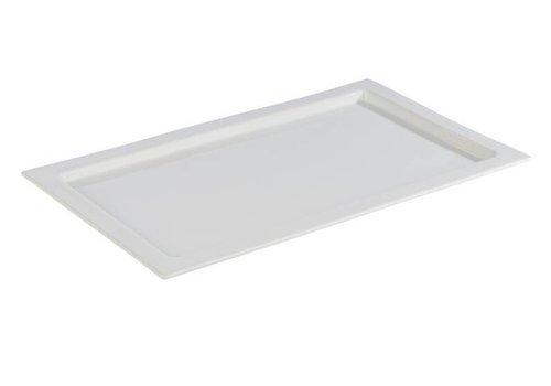 HorecaTraders Gastronome weiße Porzellanschalen | 3 Formate