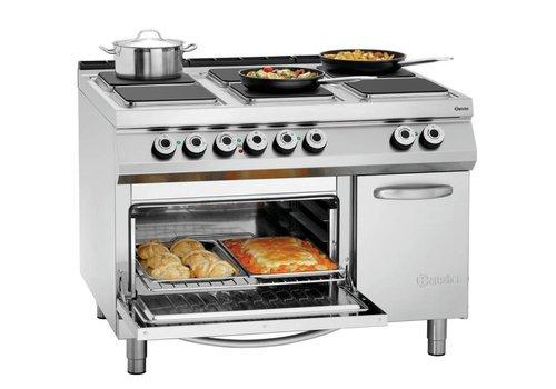 Bartscher Professioneel Elektrisch Fornuis | 6 kookplaten