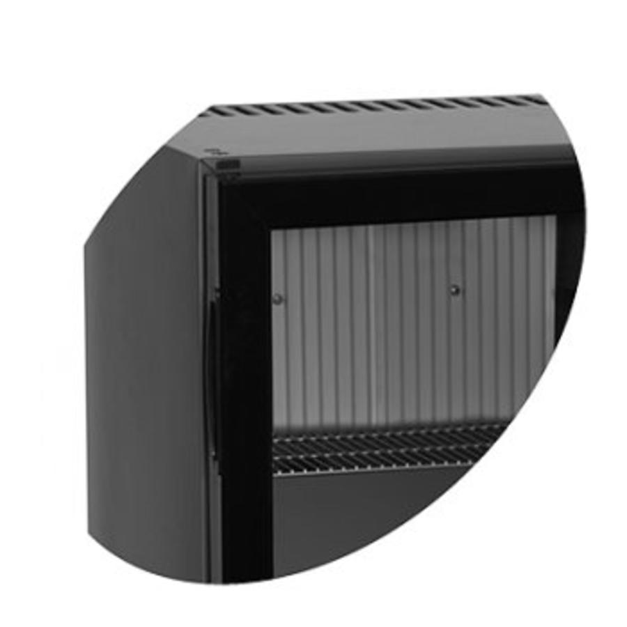 Minibar schwarz - mit FLUID GEKÜHLT