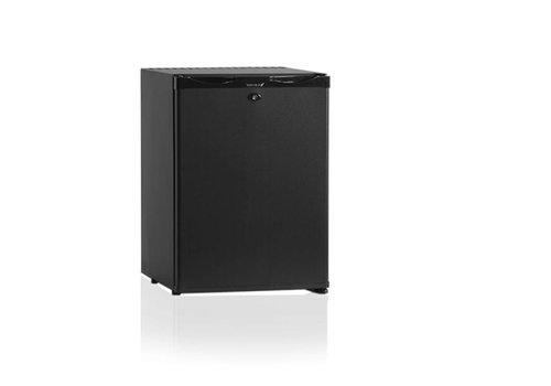 Diamond Kleiner Kühlschrank Schwarz 40 Liter - SILENT KÜHLSCHRANK