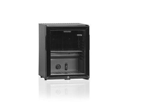 Diamond Trinken Sie einen kleinen Kühlschrank mit Glastür -Stil