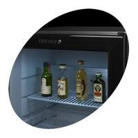 Little Black Kühlschrank mit Glastür mit 42 Liter